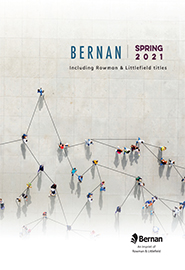 Cover image of the catalog titled 21BernanSpringCatalog