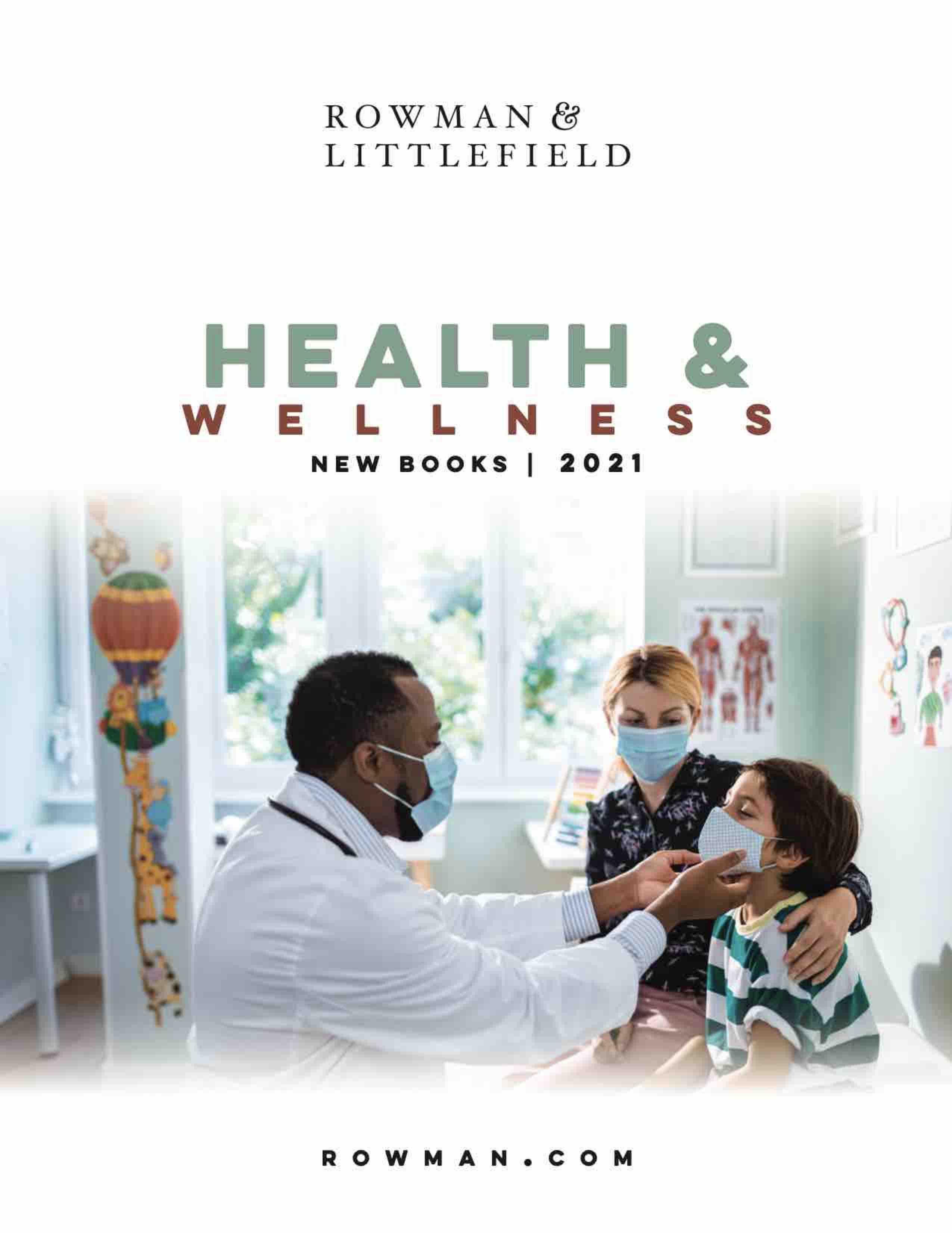 Cover image of the catalog titled 21RLSpringHealth&WellnessCatalog