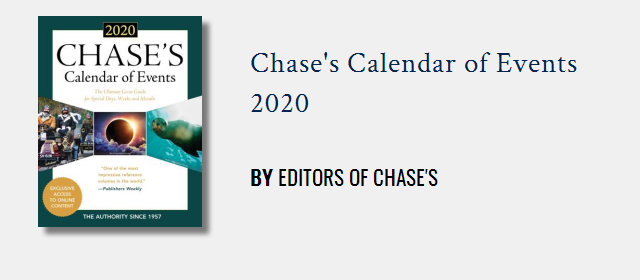 Chase's Calendar of Events   Rowman & Littlefield