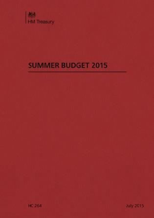 Cover image for the book Financial Statement And Budget Report: Budget 2015: Summer/July