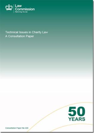 Cover image for the book Technical Issues In Charity Law: A Consultation Paper: Law Commission Consultation Paper #220