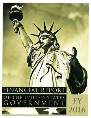 Cover image for the book Financial Report of the United States Government, FY 2016