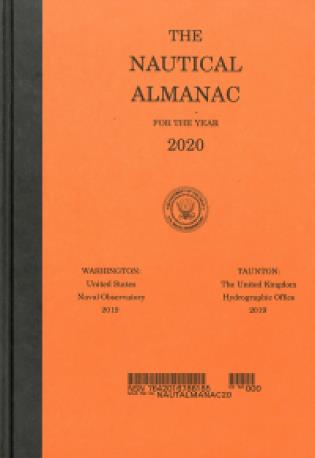 Cover image for the book Nautical Almanac 2020