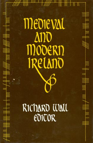 Cover image for the book Medieval and Modern Ireland