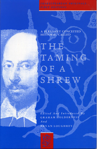 Cover image for the book A Pleasant Conceited Historie, Called the Taming of a Shrew