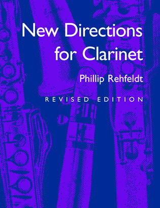 Cover image for the book New Directions for Clarinet, Revised Edition