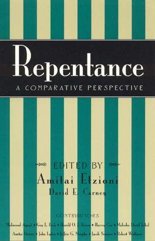 Cover image for the book Repentance: A Comparative Perspective