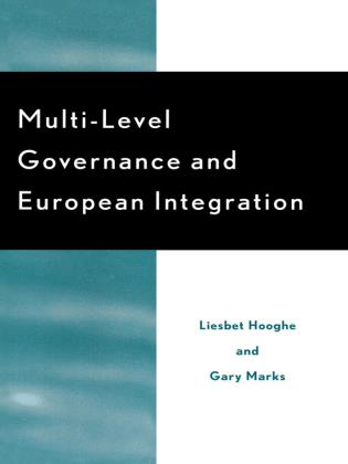 Cover image for the book Multi-Level Governance and European Integration