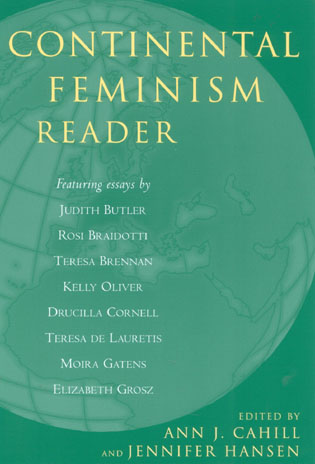 Cover image for the book Continental Feminism Reader