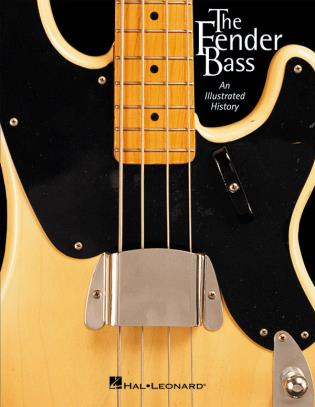 Cover image for the book The Fender Bass: An Illustrated History