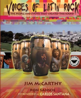 Cover image for the book Voices of Latin Rock: The People and Events That Created This Sound