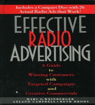 Cover image for the book Effective Radio Advertising: A Guide to Winning Customers with Targeted Campaigns and Creative Commercials