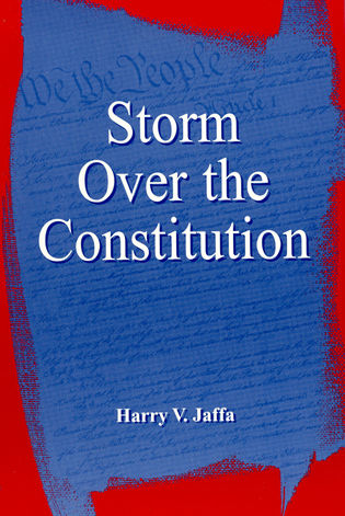 Cover image for the book Storm Over the Constitution