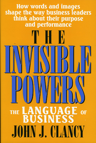 Cover image for the book The Invisible Powers: The Language of Business