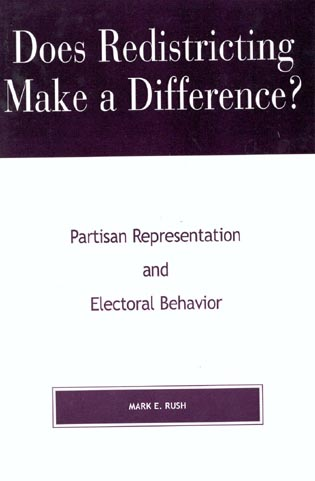 Cover image for the book Does Redistricting Make a Difference?: Partisan Representation and Electoral Behavior