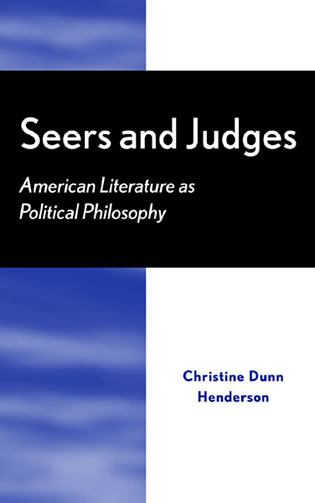 Cover image for the book Seers and Judges: American Literature as Political Philosophy