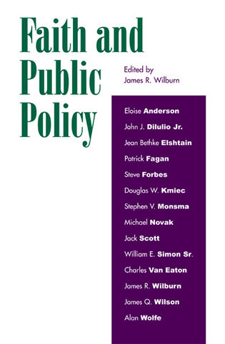 Cover image for the book Faith and Public Policy