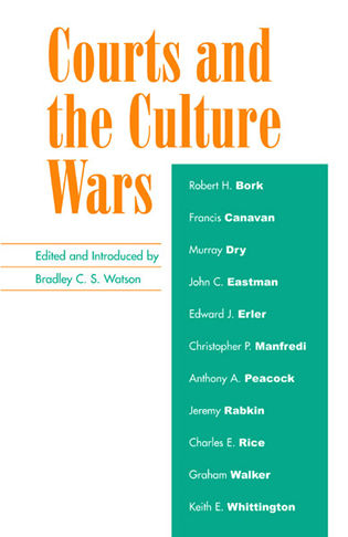 Cover image for the book Courts and the Culture Wars