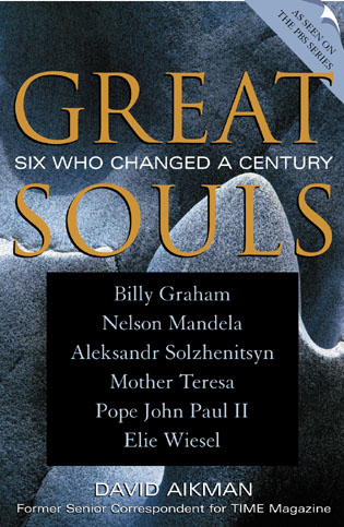 Cover image for the book Great Souls: Six Who Changed a Century