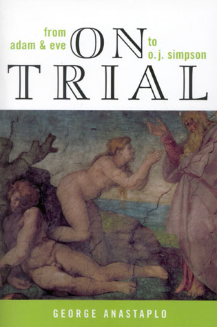 Cover image for the book On Trial: From Adam & Eve to O. J. Simpson
