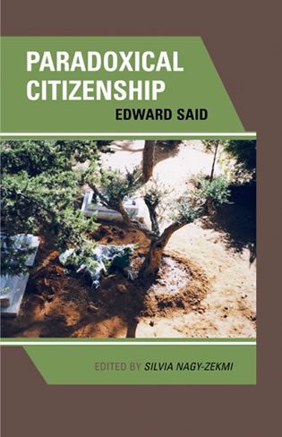 Cover image for the book Paradoxical Citizenship: Essays on Edward Said