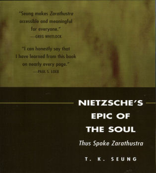 Cover image for the book Nietzsche's Epic of the Soul: Thus Spoke Zarathustra