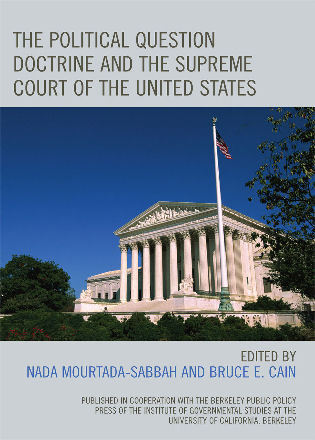 Cover image for the book The Political Question Doctrine and the Supreme Court of the United States