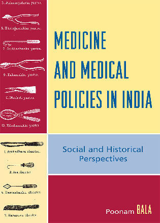 Cover image for the book Medicine and Medical Policies in India: Social and Historical Perspectives