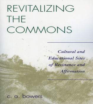 Cover image for the book Revitalizing the Commons: Cultural and Educational Sites of Resistance and Affirmation