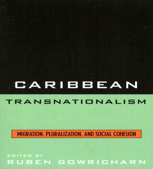 Cover image for the book Caribbean Transnationalism: Migration, Socialization, and Social Cohesion