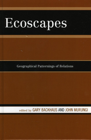 Cover image for the book Ecoscapes: Geographical Patternings of Relations