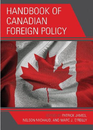 Cover image for the book Handbook of Canadian Foreign Policy