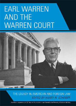 Cover image for the book Earl Warren and the Warren Court: The Legacy in American and Foreign Law