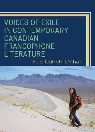 Cover image for the book Voices of Exile in Contemporary Canadian Francophone Literature