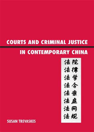 Cover image for the book Courts and Criminal Justice in Contemporary China