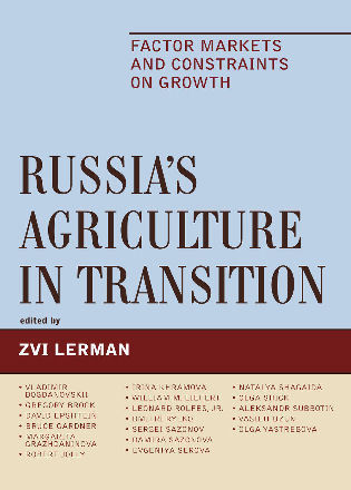 Cover image for the book Russia's Agriculture in Transition: Factor Markets and Constraints on Growth
