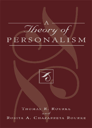 Cover image for the book A Theory of Personalism