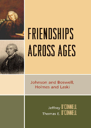 Cover image for the book Friendships Across Ages: Johnson & Boswell; Holmes & Laski