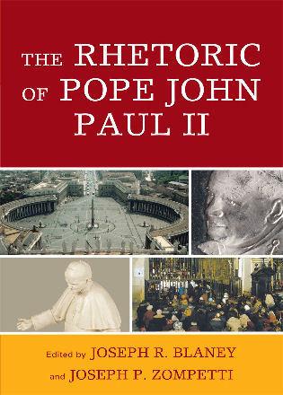 Cover image for the book The Rhetoric of Pope John Paul II