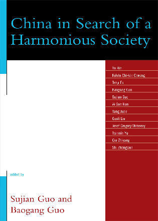 Cover image for the book China in Search of a Harmonious Society