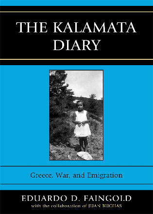 Cover image for the book The Kalamata Diary: Greece, War, and Emigration