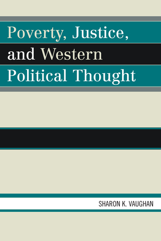 Cover image for the book Poverty, Justice, and Western Political Thought