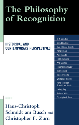Cover image for the book The Philosophy of Recognition: Historical and Contemporary Perspectives