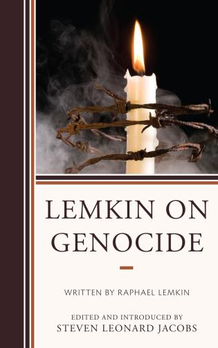 Cover image for the book Lemkin on Genocide