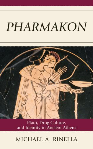 Cover image for the book Pharmakon: Plato, Drug Culture, and Identity in Ancient Athens