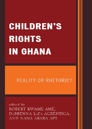 Cover image for the book Children's Rights in Ghana: Reality or Rhetoric?