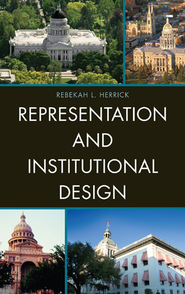 Cover image for the book Representation and Institutional Design