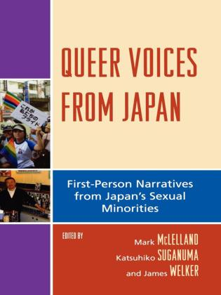 Cover image for the book Queer Voices from Japan: First Person Narratives from Japan's Sexual Minorities