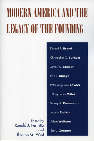 Cover image for the book Modern America and the Legacy of Founding