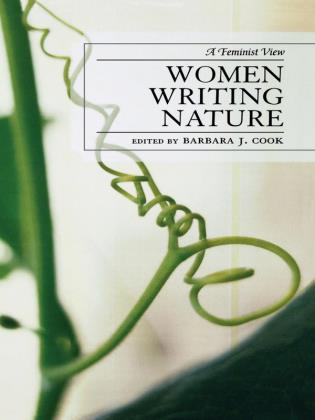Cover image for the book Women Writing Nature: A Feminist View